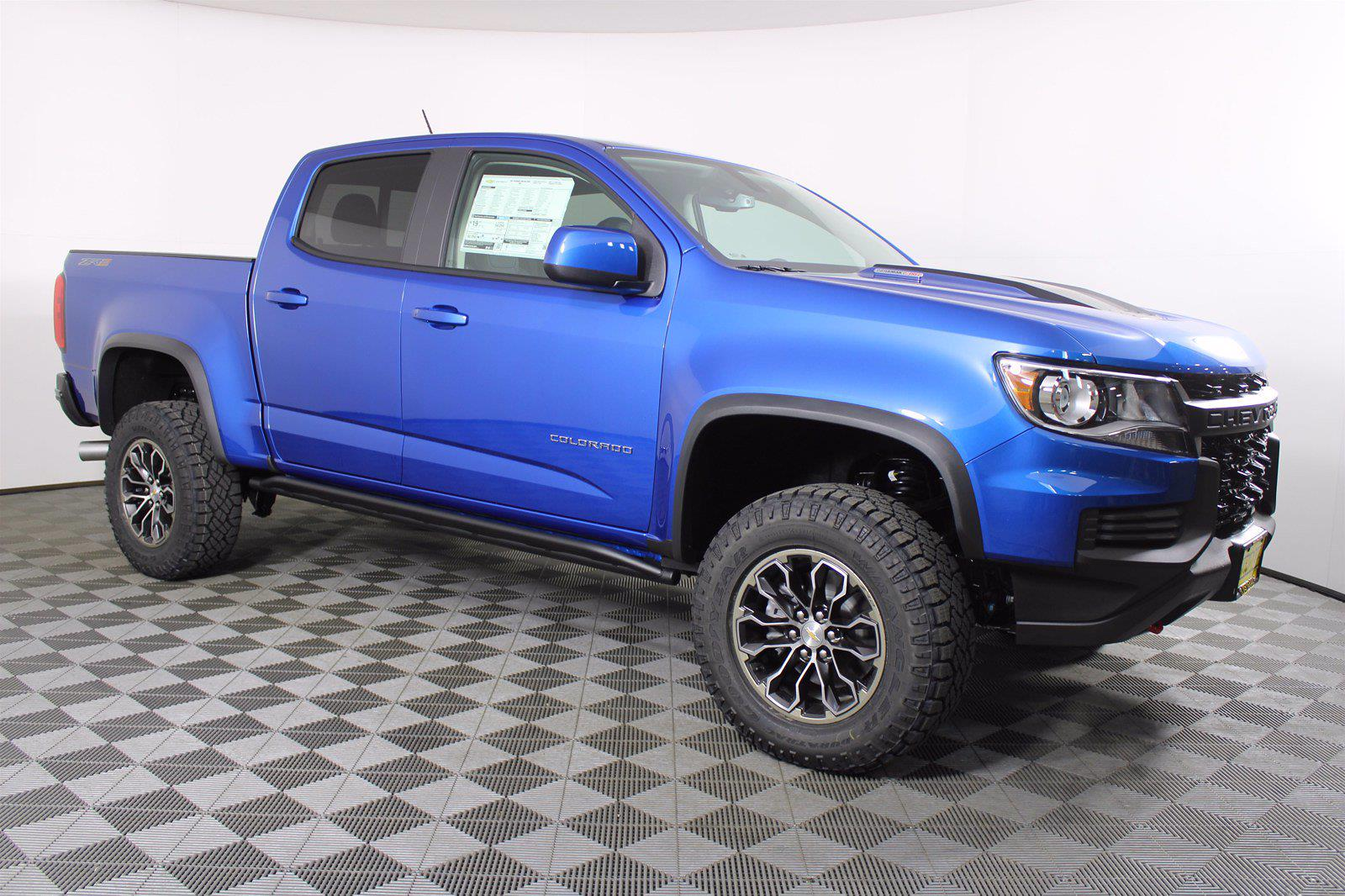 2021 Chevrolet Colorado Crew Cab 4x4, Pickup #D110497 - photo 4