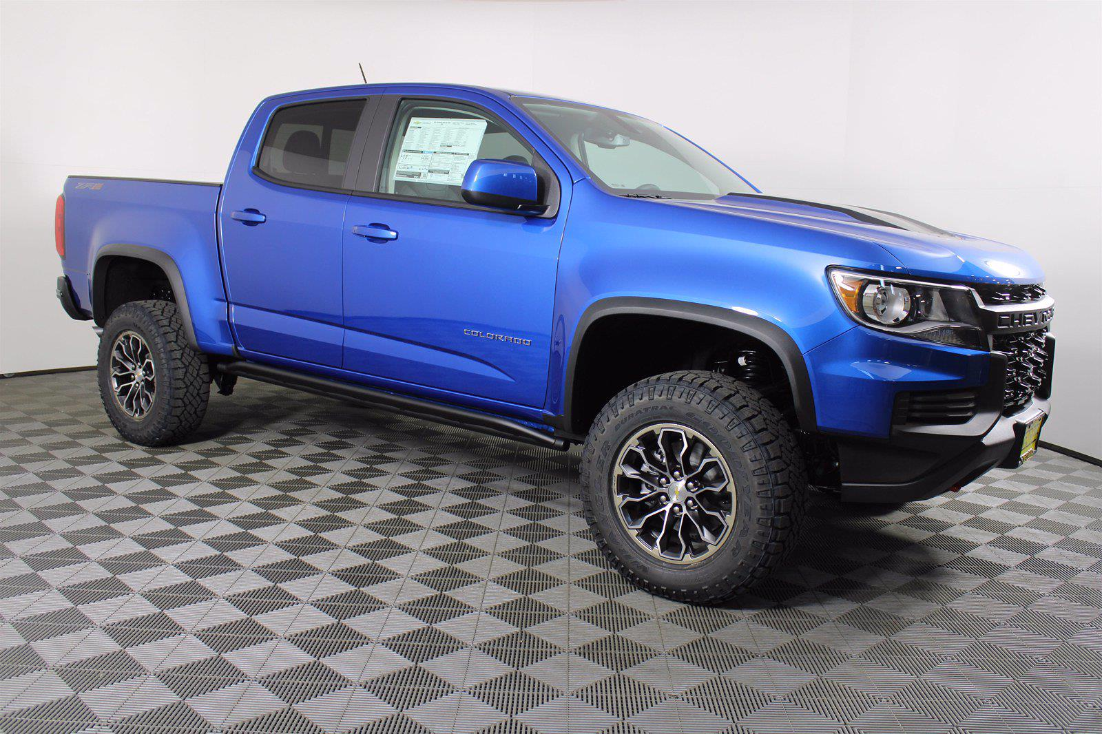 2021 Chevrolet Colorado Crew Cab 4x4, Pickup #D110515 - photo 4