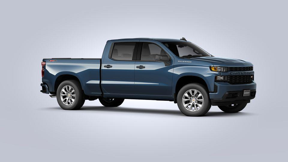 2021 Chevrolet Silverado 1500 Crew Cab 4x4, Pickup #D110601 - photo 4