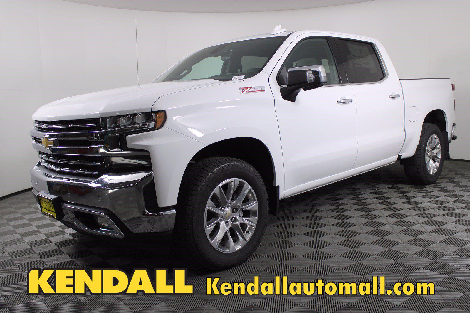 2021 Chevrolet Silverado 1500 Crew Cab 4x4, Pickup #D110856 - photo 1