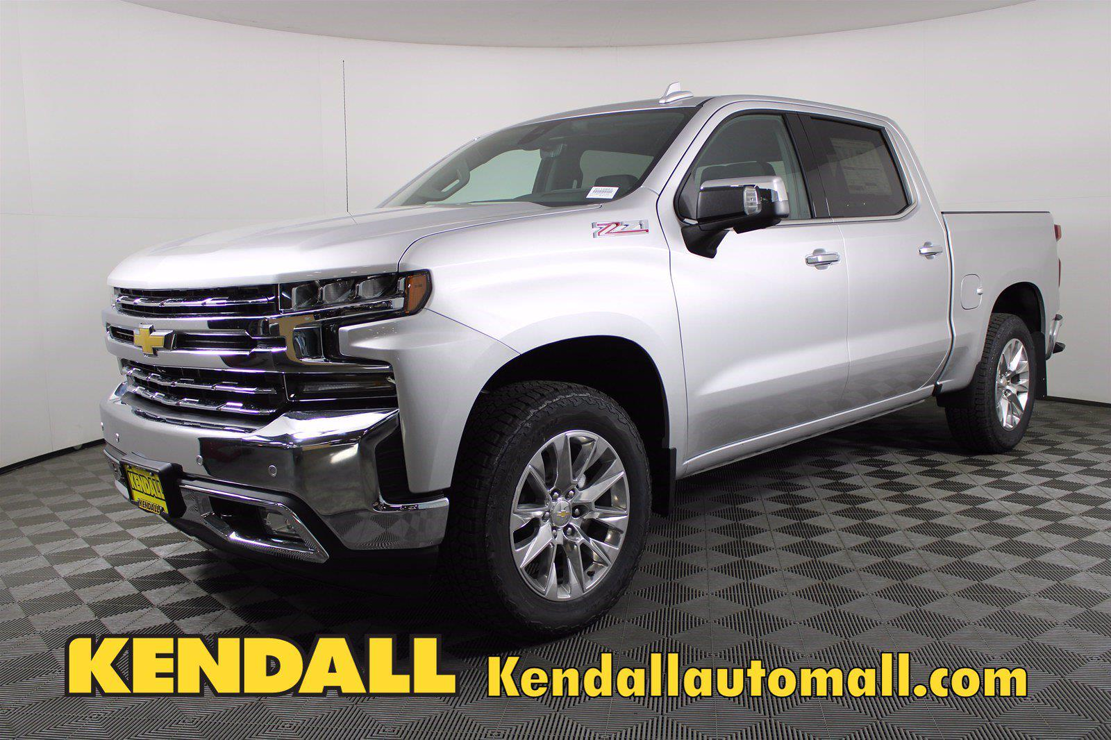 2021 Chevrolet Silverado 1500 Crew Cab 4x4, Pickup #D110857 - photo 1