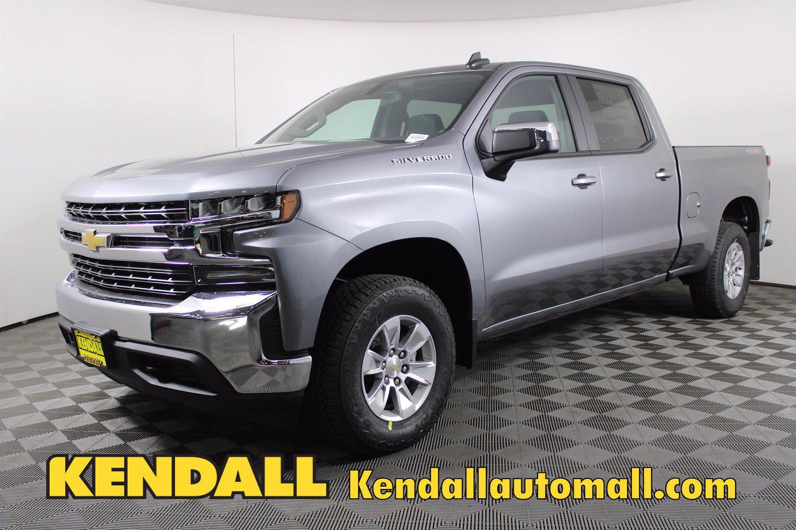 2021 Chevrolet Silverado 1500 Crew Cab 4x4, Pickup #D110908 - photo 1
