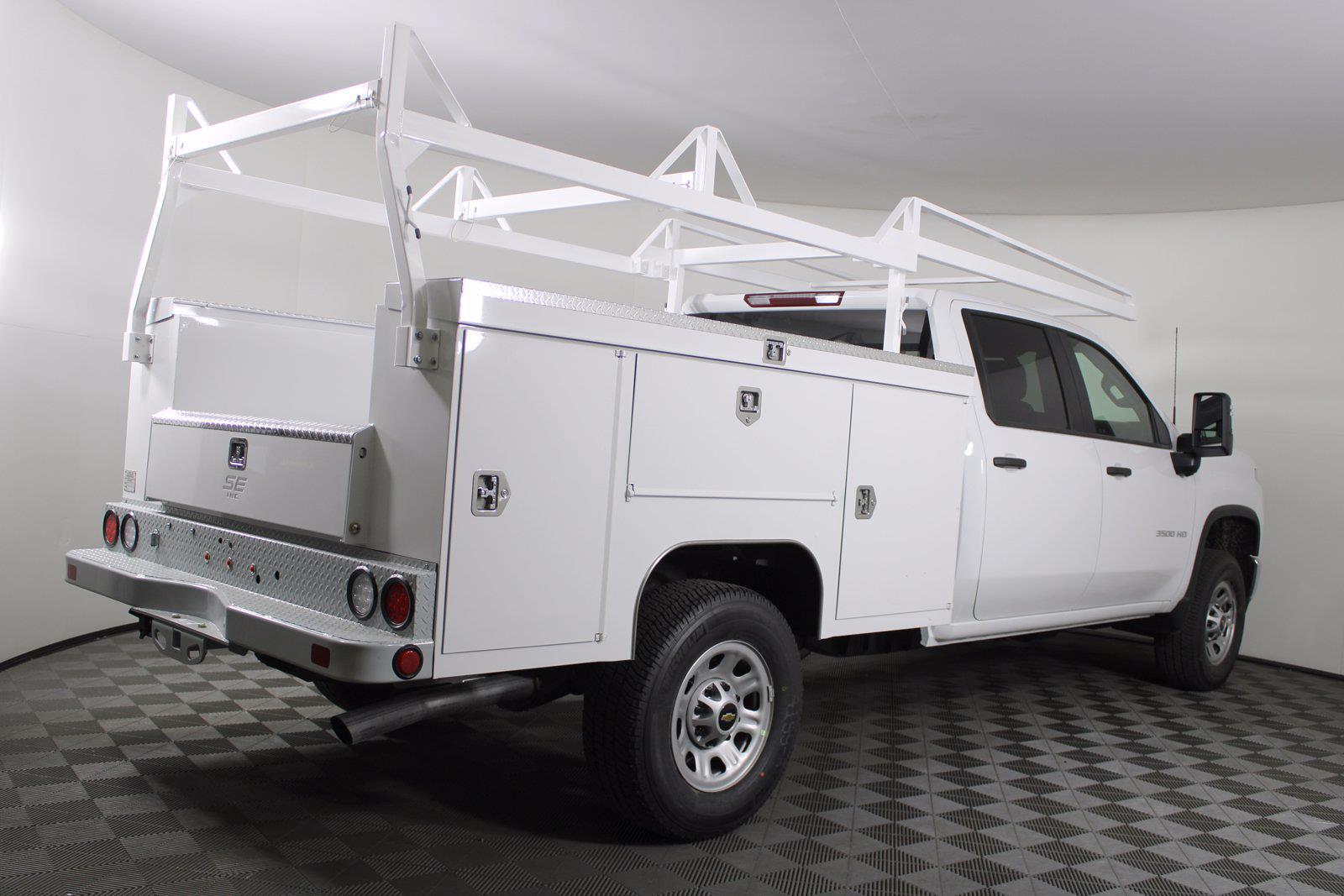 2021 Chevrolet Silverado 3500 Crew Cab 4x4, Service Body #D110928 - photo 7