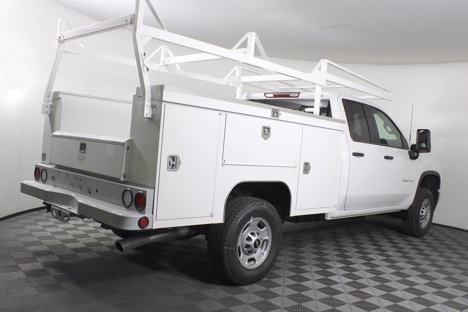 2021 Chevrolet Silverado 2500 Double Cab 4x4, Service Body #D110986 - photo 7