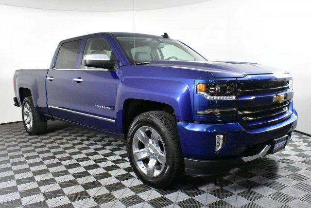 2016 Silverado 1500 Crew Cab 4x4,  Pickup #D190569A - photo 3