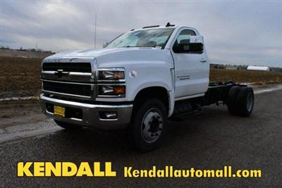 2019 Silverado Medium Duty Regular Cab DRW 4x2, Cab Chassis #D191398 - photo 1
