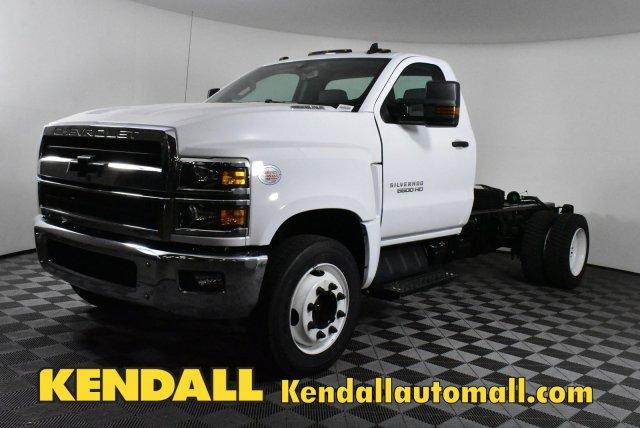 2019 Silverado Medium Duty Regular Cab DRW 4x2,  Cab Chassis #D191425 - photo 1