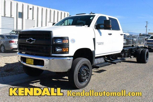 2019 Silverado Medium Duty Crew Cab DRW 4x4, Cab Chassis #D191433 - photo 1