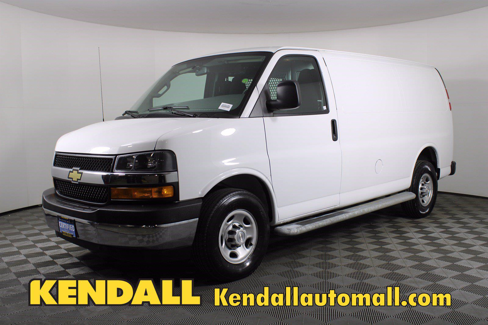 2018 Chevrolet Express 2500 4x2, Empty Cargo Van #DU90788 - photo 7