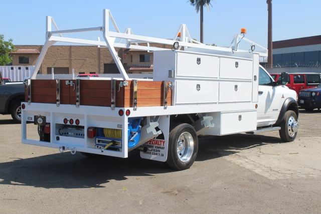 2020 Ram 5500 Regular Cab DRW 4x2, Specialty Equipment Contractor Body #F5R00072 - photo 1
