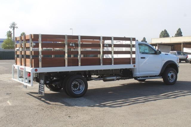 2020 Ram 5500 Regular Cab DRW 4x2, Scelzi Stake Bed #F5R02369 - photo 1