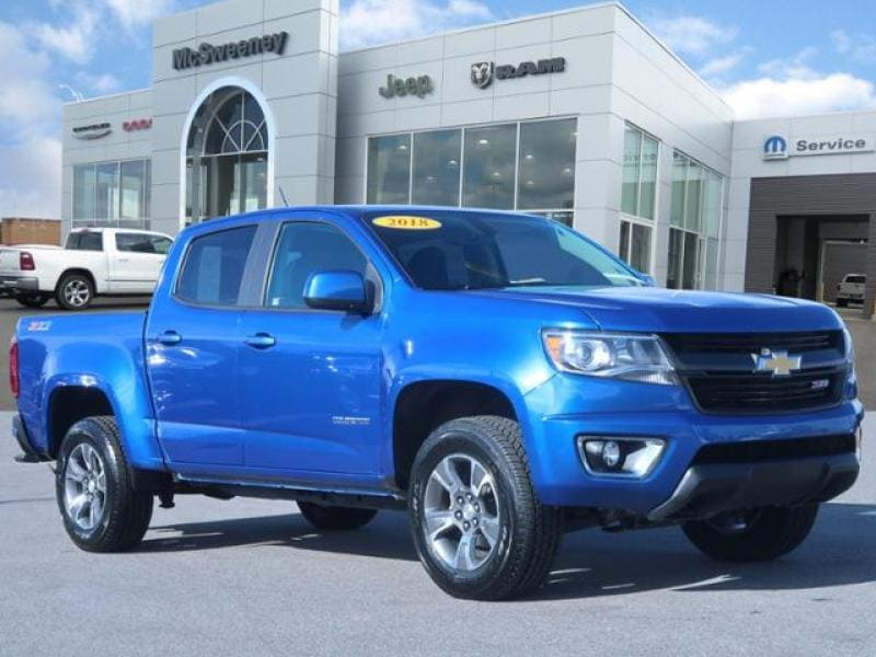 2018 Chevrolet Colorado Crew Cab 4x4, Pickup #P212057 - photo 1