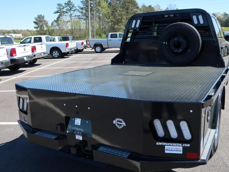 2021 Ram 3500 Crew Cab DRW 4x4, CM Truck Beds Platform Body #R554082 - photo 1
