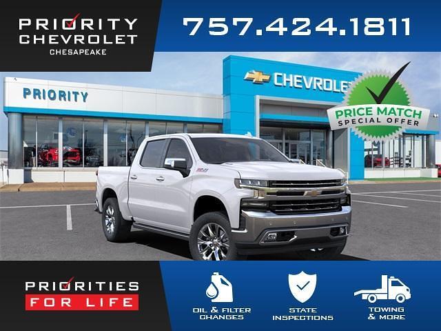 2021 Chevrolet Silverado 1500 Crew Cab 4x4, Pickup #21C07820 - photo 1