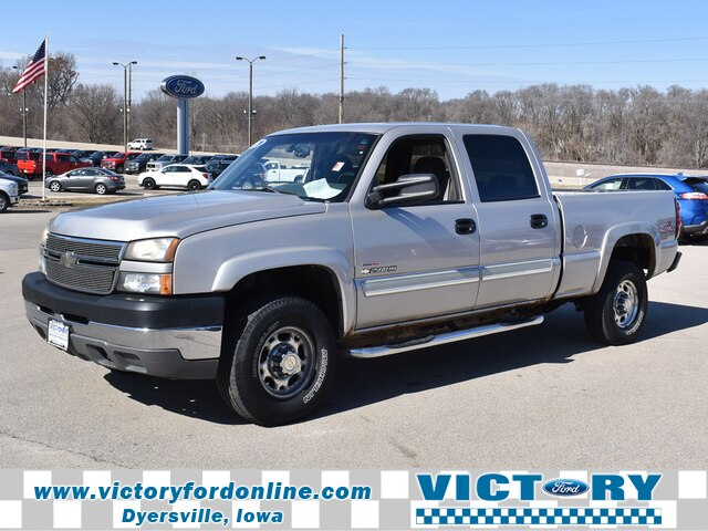 2005 Silverado 2500 Crew Cab 4x4, Pickup #CK823B - photo 1
