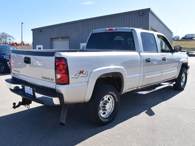 2005 Silverado 2500 Crew Cab 4x4, Pickup #CK823B - photo 11