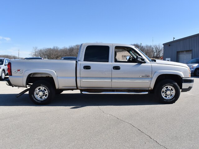 2005 Silverado 2500 Crew Cab 4x4, Pickup #CK823B - photo 12