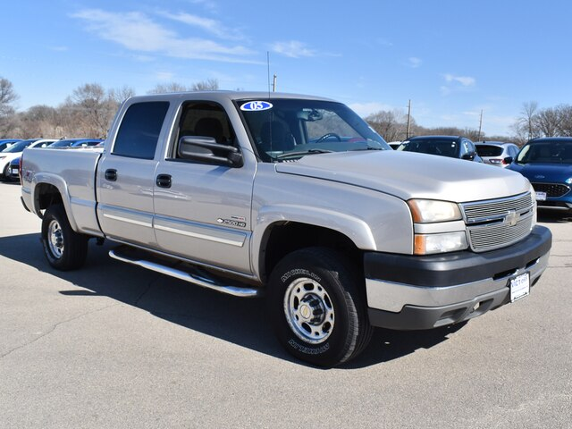 2005 Silverado 2500 Crew Cab 4x4, Pickup #CK823B - photo 13