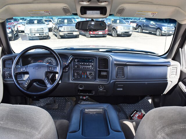 2005 Silverado 2500 Crew Cab 4x4, Pickup #CK823B - photo 4