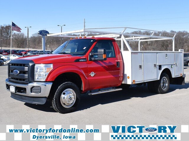 2015 F-350 Regular Cab DRW 4x4, Stahl Service Body #CL330A - photo 1
