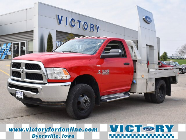 2015 Ram 3500 Regular Cab DRW 4x4, Hillsboro Platform Body #CL331A - photo 1