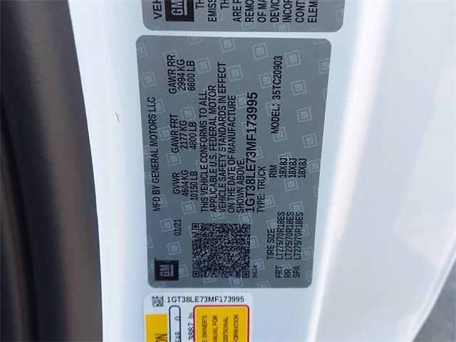 2021 GMC Sierra 2500 Regular Cab 4x2, Pickup #N173995 - photo 16