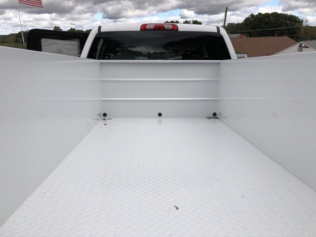 2019 Sierra 2500 Extended Cab 4x4,  Reading Classic II Steel Service Body #N204143 - photo 10