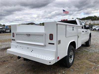 2019 Sierra 2500 Extended Cab 4x4,  Reading Classic II Steel Service Body #N204143 - photo 4