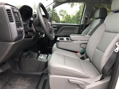 2019 Sierra 2500 Extended Cab 4x4,  Reading Classic II Steel Service Body #N204143 - photo 8