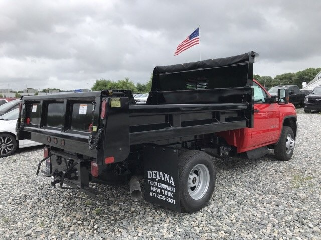 2018 Sierra 3500 Regular Cab DRW 4x4,  Rugby Eliminator LP Steel Dump Body #N291114 - photo 5