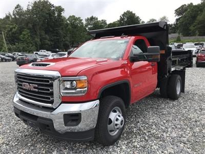 2018 Sierra 3500 Regular Cab DRW 4x4,  Rugby Eliminator LP Steel Dump Body #N291114 - photo 1