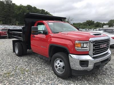 2018 Sierra 3500 Regular Cab DRW 4x4,  Rugby Eliminator LP Steel Dump Body #N291114 - photo 4
