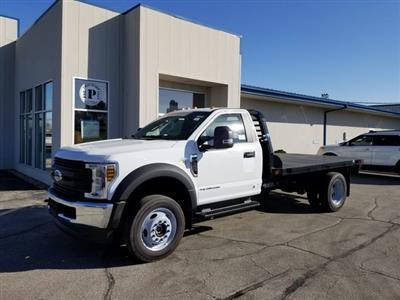 2019 F-550 Regular Cab DRW 4x4, Freedom Rodeo Platform Body #FE195768 - photo 1