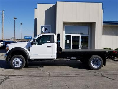 2019 F-550 Regular Cab DRW 4x4, Freedom Rodeo Platform Body #FE195768 - photo 3