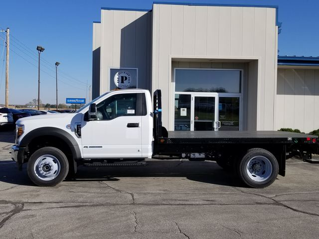 2019 F-550 Regular Cab DRW 4x4, Freedom Rodeo Platform Body #FE195834 - photo 3