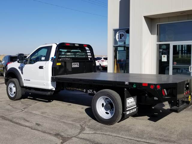 2019 F-550 Regular Cab DRW 4x4, Freedom Rodeo Platform Body #FE195834 - photo 4