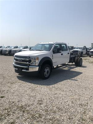 2020 Ford F-550 Crew Cab DRW 4x4, Cab Chassis #FE204319 - photo 1