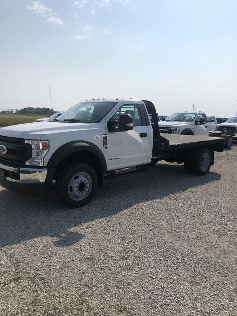2020 Ford F-550 Regular Cab DRW 4x2, Freedom Rodeo Platform Body #FE204392 - photo 1