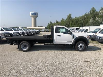 2020 Ford F-550 Regular Cab DRW 4x2, Freedom Rodeo Platform Body #FE204392 - photo 6