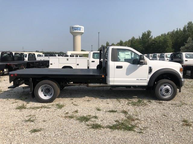 2020 Ford F-550 Regular Cab DRW 4x4, Freedom Rodeo Platform Body #FE204397 - photo 4