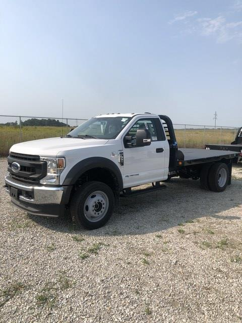 2020 Ford F-550 Regular Cab DRW 4x4, Freedom Rodeo Platform Body #FE204400 - photo 1