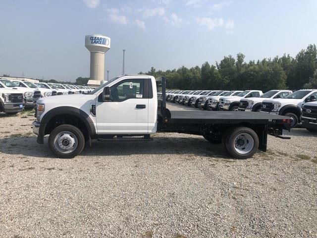 2020 Ford F-550 Regular Cab DRW 4x4, Freedom Rodeo Platform Body #FE204403 - photo 3