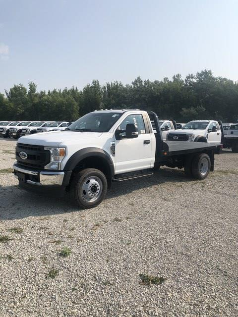 2020 Ford F-550 Regular Cab DRW 4x4, Freedom Rodeo Platform Body #FE204406 - photo 1