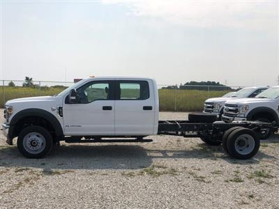 2019 Ford F-550 Crew Cab DRW 4x4, Cab Chassis #FE204409 - photo 4