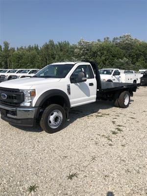 2020 Ford F-550 Regular Cab DRW RWD, CM Truck Beds RD Model Platform Body #FE204419 - photo 1