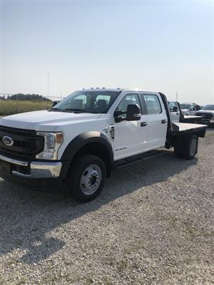 2020 Ford F-550 Crew Cab DRW 4x4, CM Truck Beds RD Model Platform Body #FE204423 - photo 1