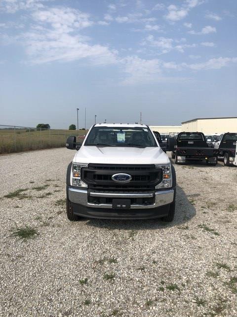 2020 Ford F-550 Regular Cab DRW 4x4, Hillsboro Platform Body #FE204427 - photo 3
