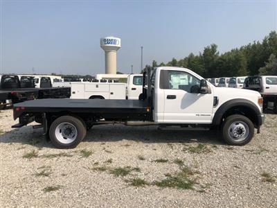 2020 Ford F-550 Regular Cab DRW 4x4, Hillsboro Platform Body #FE204427 - photo 4