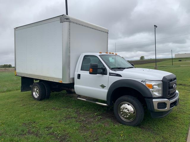 2015 Ford F-550 Regular Cab DRW 4x2, Dry Freight #FE204434A - photo 1
