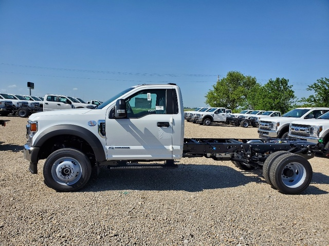 2020 Ford F-550 Regular Cab DRW 4x4, Cab Chassis #FE204540 - photo 4